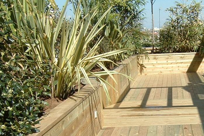 jardines en áticos y terrazas en Madrid