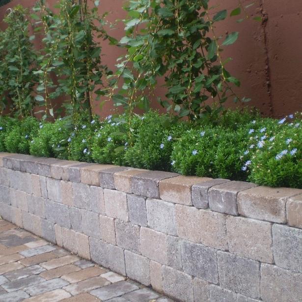 Jardineras de adoquín