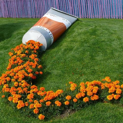 Decoracion De Pequenos Espacios Del Jardin - Decoracion-de-jardines-con-plantas